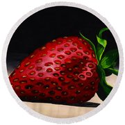 Plump And Juicy Round Beach Towel