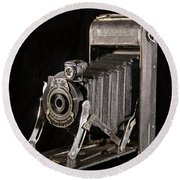 Pocket Kodak Series II Round Beach Towel