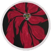 Poinsettia - The Season Round Beach Towel