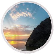 Point Meriwether Round Beach Towel