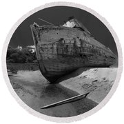 Point Reyes Boat Round Beach Towel