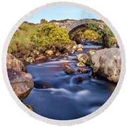 Poisoned Glen Bridge Round Beach Towel