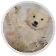 Polar Slide Round Beach Towel