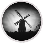 Polegate Windmill Round Beach Towel