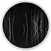 Pond Zen Round Beach Towel