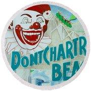 Pontchartrain Beach Round Beach Towel