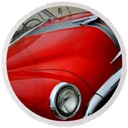 Pontiac Chieftain 1954 Front Round Beach Towel