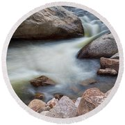 Pool Of Dreams Round Beach Towel by James BO Insogna
