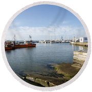Poole Harbour Round Beach Towel