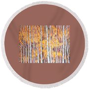 Poplar Forest Round Beach Towel