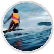 Popsicle Round Beach Towel