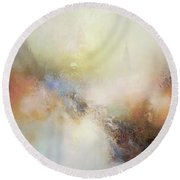 Porcelain Round Beach Towel