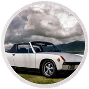 Porsche 914 Round Beach Towel