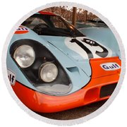 Porsche 917 Round Beach Towel