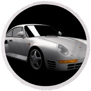 Porsche 959 Round Beach Towel