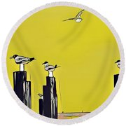 Port A Round Beach Towel