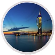 Portsmouth 2 Round Beach Towel