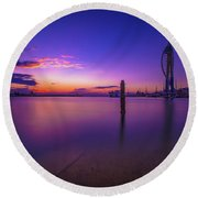 Portsmouth  Round Beach Towel