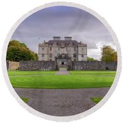 Portumna House  Round Beach Towel