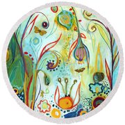 Possibilities Round Beach Towel