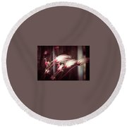 Prairie Smoke Round Beach Towel