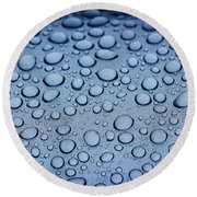 Precipitation 3 Round Beach Towel