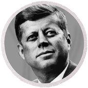 President Kennedy Round Beach Towel