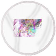 Pretty Round Beach Towel