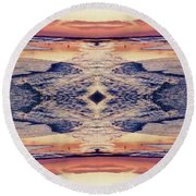 Primordial Passage Round Beach Towel