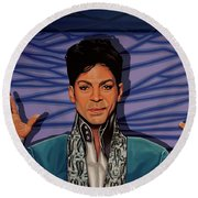 Prince Round Beach Towel by Paul Meijering