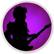 Prince Rogers Nelson Collection - 1 Round Beach Towel