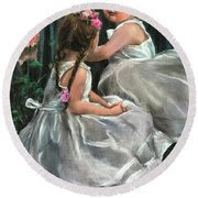 Princesses Round Beach Towel