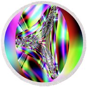 Prism Round Beach Towel