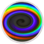 Spectrum Twirl Round Beach Towel