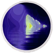 Protection Round Beach Towel