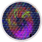 Psyche Round Beach Towel