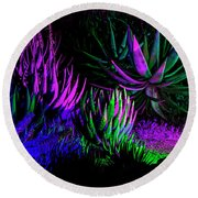Psychedelia Round Beach Towel