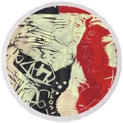 Pugmire Cd Front Sheet Round Beach Towel
