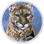 Puma - The Hunter Round Beach Towel