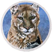 Puma - The Hunter Round Beach Towel