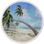 Punta Cana - Sea Beach 13 Round Beach Towel