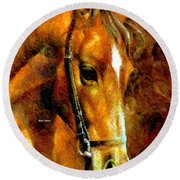 Pure Breed Round Beach Towel