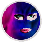 Pussy Riot Round Beach Towel