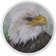 Pyrague Eagle Round Beach Towel