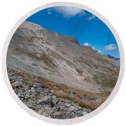 Quandary Peak Round Beach Towel
