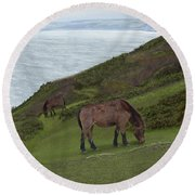 Queen Of Rame Round Beach Towel