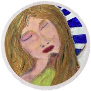 Queen Serene Round Beach Towel