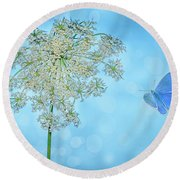 Queens Lace Round Beach Towel