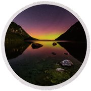 Quiet Reflection Round Beach Towel