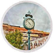 Radford Virginia - Time For A Visit Round Beach Towel